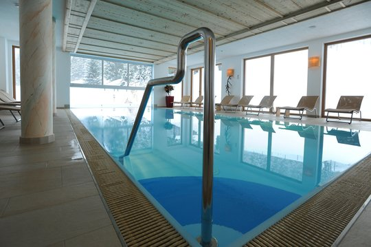 Indoor- and Outdoor Pool