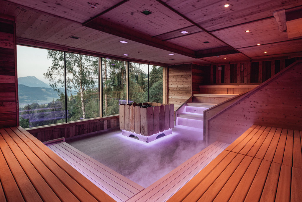 Event sauna with light & sound effects