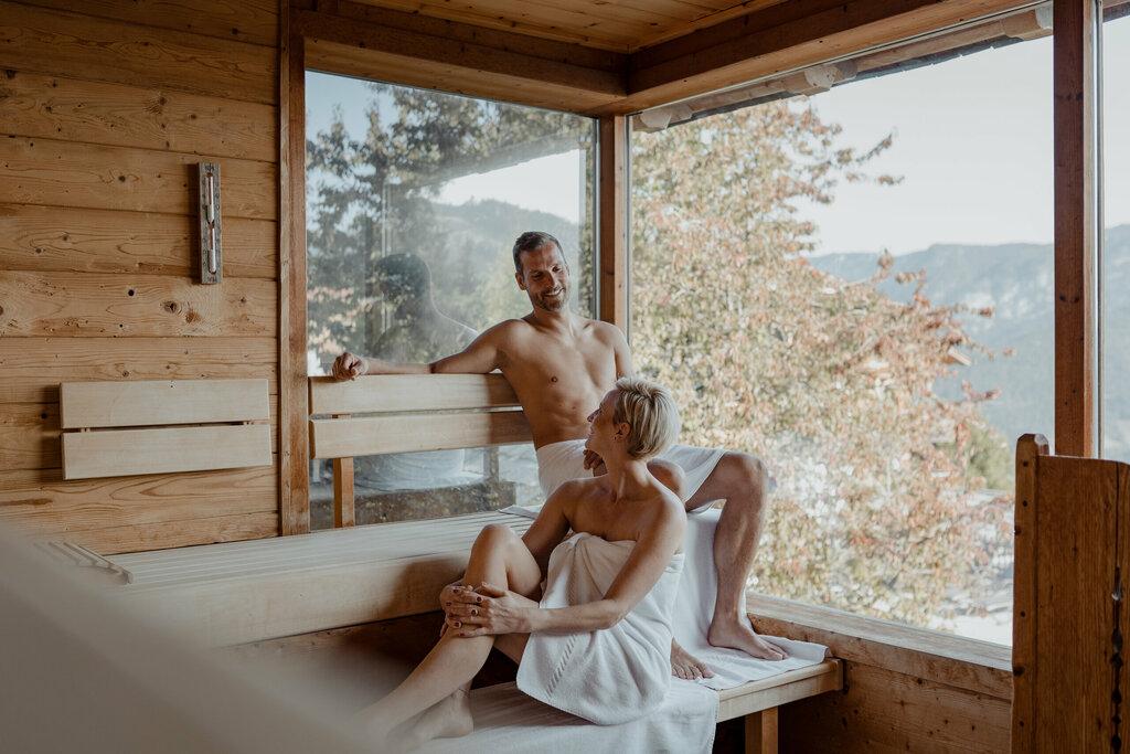 Sauna infusions in our Alpine Sauna Village