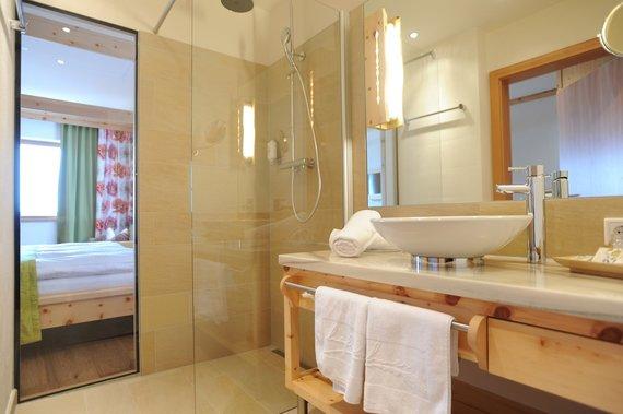Naturhotel Badezimmer
