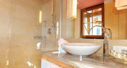Badezimmer Alpenrose