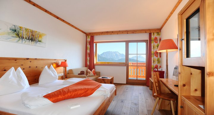 Swiss Stone Pine View