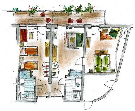 Suite Himmelreich layout